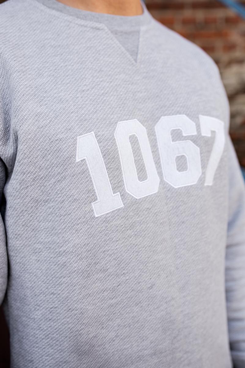 """Світшот """"Менск 1067"""" Шэры"""
