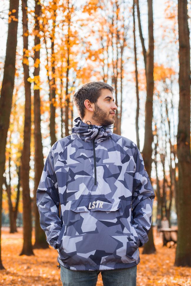 Куртка-анарак LSTR gray
