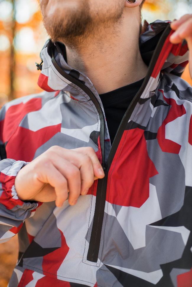 Куртка-анарак LSTR red