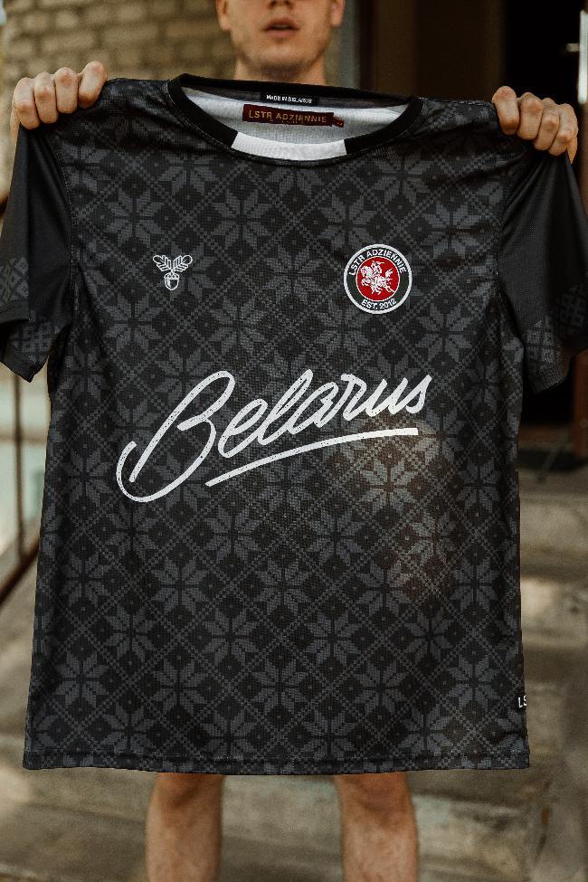 """Цішотка футбольная """"Belarus"""" Чорная"""