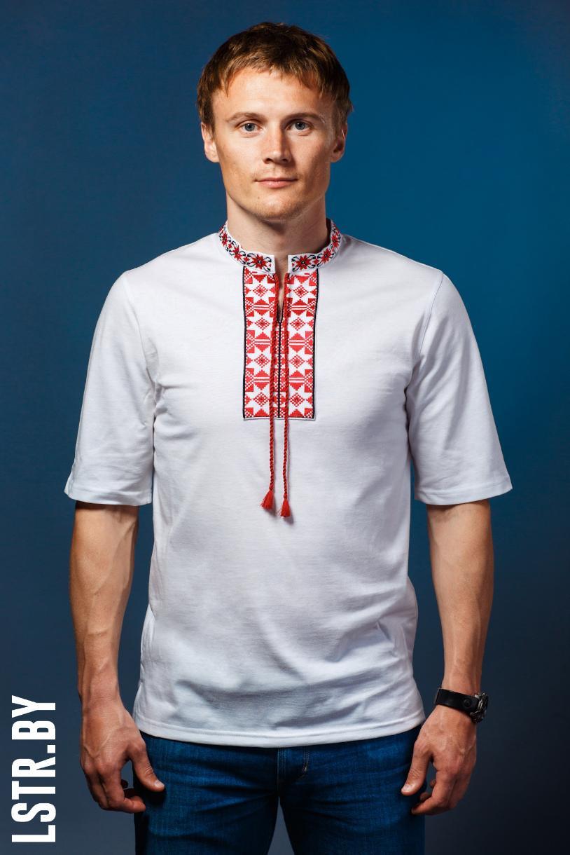 """Кашуля вышываная """"Паўлюк"""" Белая"""