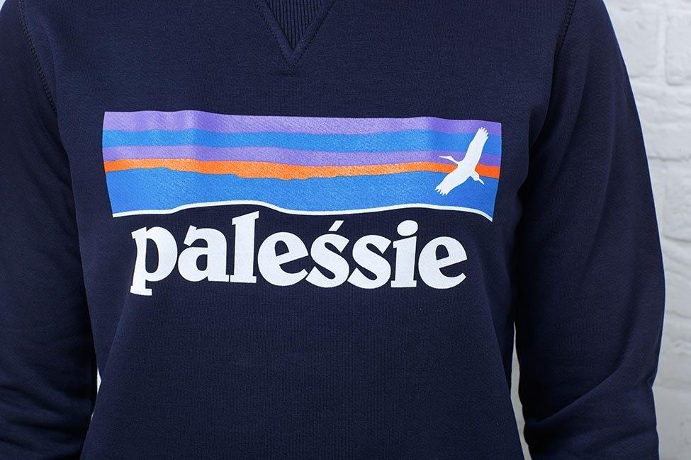 """Світшот жаночы """"Palessie"""" Navy"""