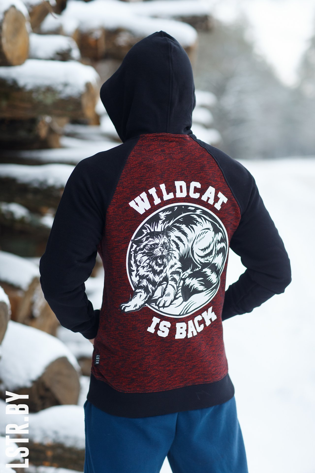 "Худзі-зіппер ""Wildcat is back"""