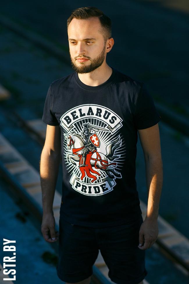 """Цішотка """"Belarus Pride"""" Navy"""