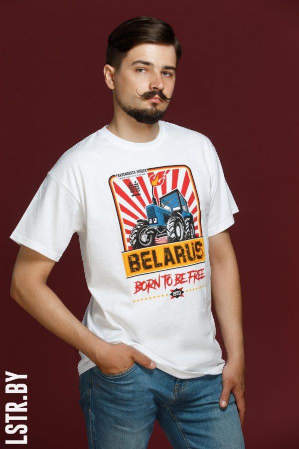 """Цішотка """"Трактар Belarus"""" Белая (Farbendruck Brüder)"""