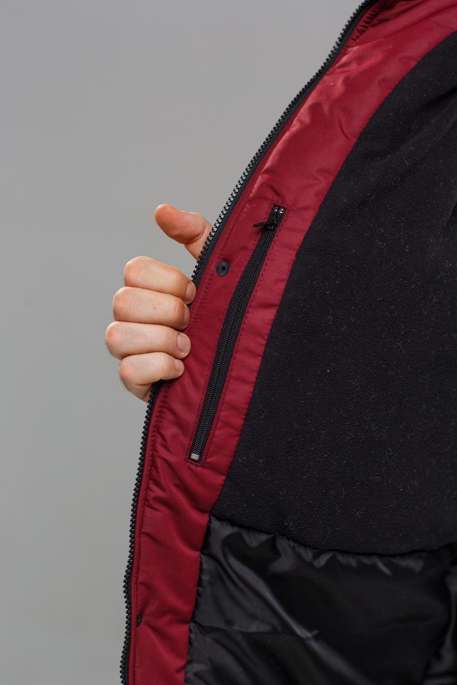 """Куртка """"ZIMA"""" Burgundy-Black"""