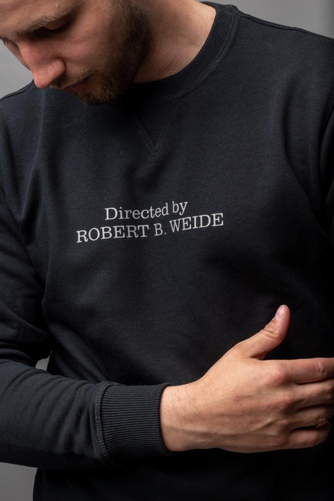 """Світшот """"Directed by Robert B. Weide"""" Чорны"""